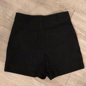 DVF black shorts